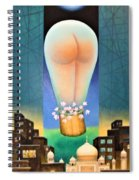 Moonlit Night-b Spiral Notebook
