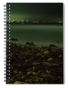 Moonlit Night - The Point Spiral Notebook