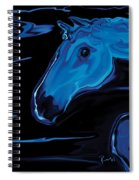 Moonlit Run Spiral Notebook