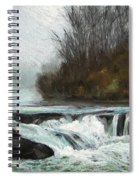 Moonlit Serenity Spiral Notebook