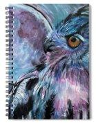 Moonlit Wisdom  Spiral Notebook