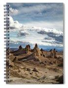Moonscape Pinnacles Spiral Notebook