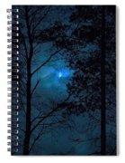 Moonshine 10 Blue Sky Spiral Notebook