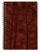 Moonshine 11 Red Sky Spiral Notebook