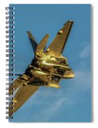 Moonshine Raptor  Spiral Notebook