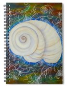 Moonsnail Lace Spiral Notebook