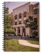 Moore County Courthouse Spiral Notebook