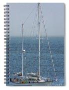 Moored In Matanzas Bay Spiral Notebook