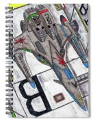Moored Shift Colors Spiral Notebook