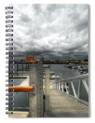 Moorings Spiral Notebook