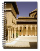 Moorish Architecture In The Nasrid Palaces At The Alhambra Granada Spiral Notebook