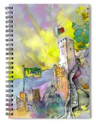 Moorish Castle In Sintra 01 Spiral Notebook