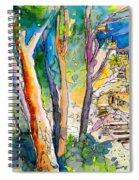 Moorish Castle In Sintra 02 Spiral Notebook