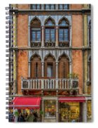 Moorish Style Windows Venice_dsc1450_02282017 Spiral Notebook