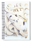 Moose Spiral Notebook