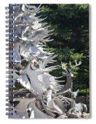 Moose Horn Tree Spiral Notebook