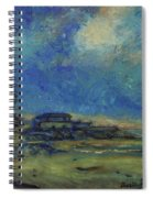 Moran Lake Santa Cruz California Landscape 9 Spiral Notebook