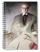 Morcillo: Portrait, C1930 Spiral Notebook