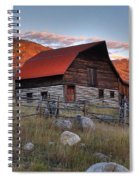 More Barn Steamboat Spiral Notebook