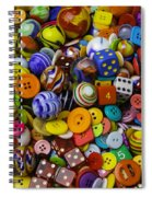 More Beautiful Marbles Spiral Notebook