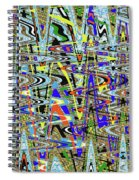 More Colors Abstract Spiral Notebook