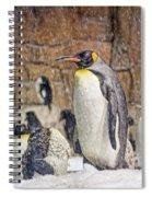 More Snow - King Penguin Spiral Notebook