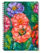 More Zinnias Spiral Notebook