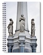 Moriarty Tomb Spiral Notebook