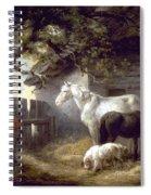 Morland: Farmyard, 1792 Spiral Notebook