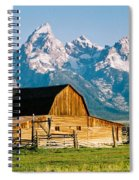 Mormon Barn Spiral Notebook