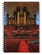 Mormon Meeting Hall Spiral Notebook