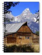 Mormon Row Barn  1 Spiral Notebook