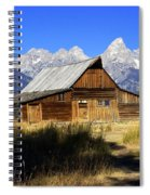 Mormon Row Barn 2 Spiral Notebook