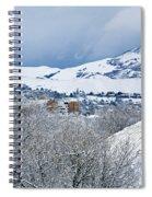 Mormon Tabernacle In Snow II Spiral Notebook