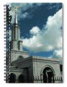 Mormon Temple Folsom Ca Spiral Notebook