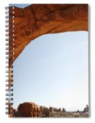Morning Arch Spiral Notebook