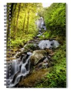 Morning At Amicalola Falls Spiral Notebook