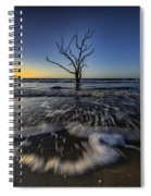 Morning At Botany Bay Plantation Spiral Notebook
