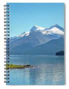 Morning At Lake Maligne, Canada Spiral Notebook