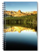 Morning At Lake Mamie Spiral Notebook