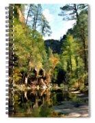 Morning At Oak Creek Arizona Spiral Notebook