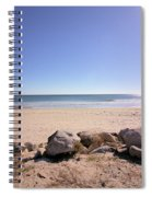 Morning At Qgunquit Beach 2. Spiral Notebook