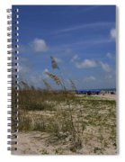 Morning At The Beach Spiral Notebook