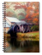 Morning At The Mill Spiral Notebook