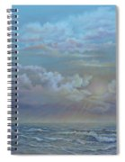 Morning At The Ocean Spiral Notebook