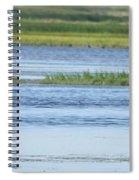 Morning At The Refuge Spiral Notebook
