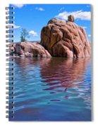 Morning At Watson Lake Spiral Notebook