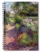 Morning Break In The Garden Spiral Notebook
