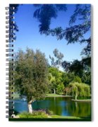 Morning By The Lake Spiral Notebook