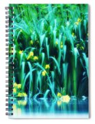 Morning By The Pond Spiral Notebook